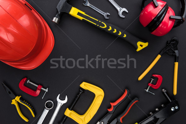 reparement tools and hard hat Stock photo © LightFieldStudios