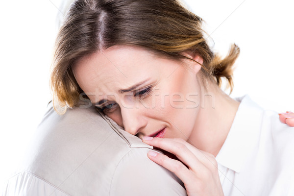 crying woman Stock photo © LightFieldStudios