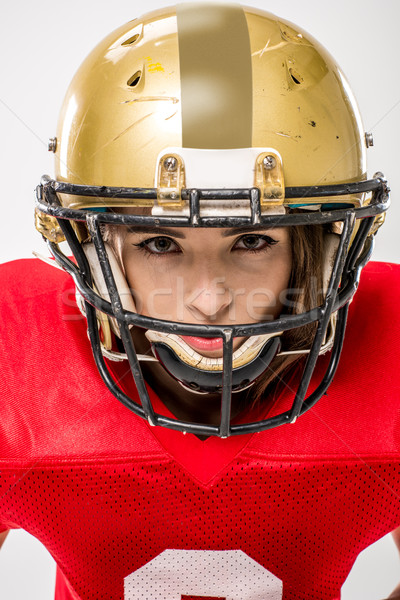female american football player Stock photo © LightFieldStudios