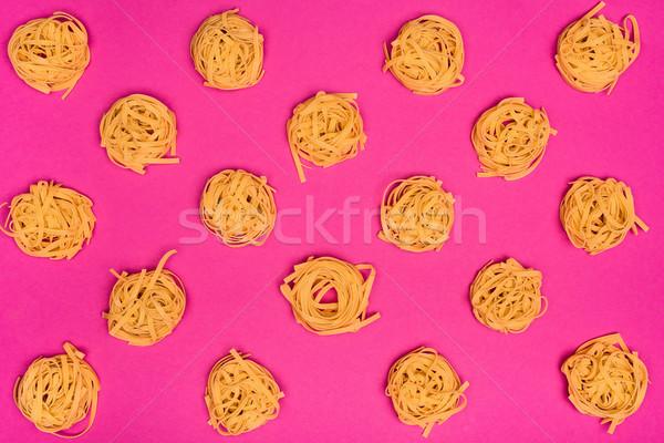 raw pasta nests Stock photo © LightFieldStudios