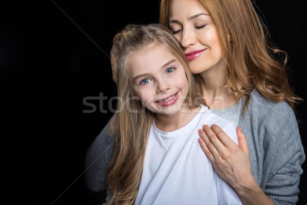 Madre figlia giovani cute dietro Foto d'archivio © LightFieldStudios