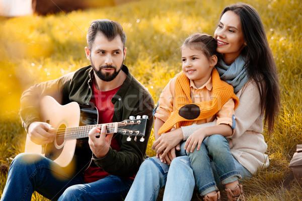 Family in park Stock photo © LightFieldStudios