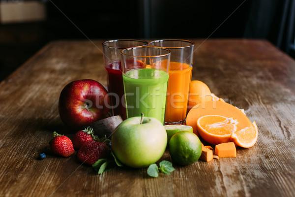Bril organisch vers Stockfoto © LightFieldStudios