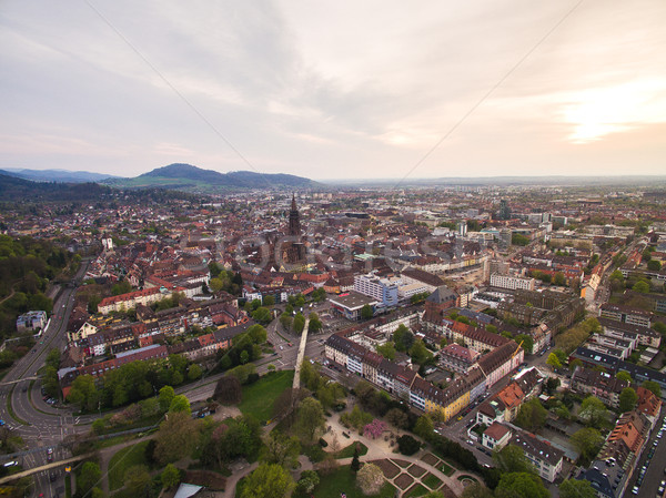 Aerial view of beautiful city in Germany Stock photo © LightFieldStudios