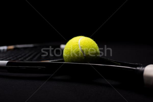 теннисный мяч мнение игры жизни желтый Сток-фото © LightFieldStudios