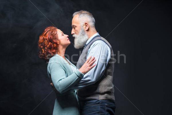 Schönen reifen Paar Liebe Stock foto © LightFieldStudios