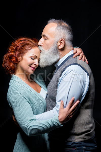 Mooie volwassen paar bebaarde volwassen man Stockfoto © LightFieldStudios
