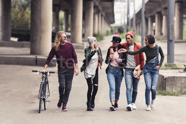 stylish people Stock photo © LightFieldStudios