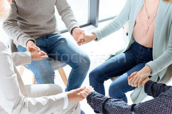 group therapy session Stock photo © LightFieldStudios