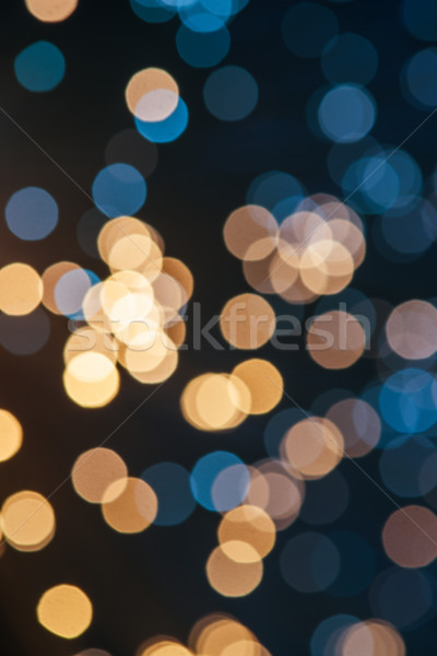 Resumen bokeh textura azul cable Foto stock © LightFieldStudios