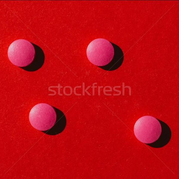 pink pills Stock photo © LightFieldStudios