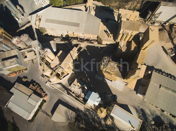 Aerial view of buildings in city in Germany Stock photo © LightFieldStudios