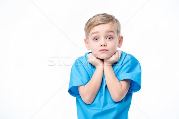 Boy playing doctor Stock photo © LightFieldStudios