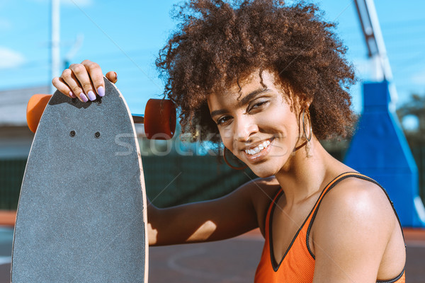 женщину молодые ярко спортивных бюстгальтер позируют Сток-фото © LightFieldStudios