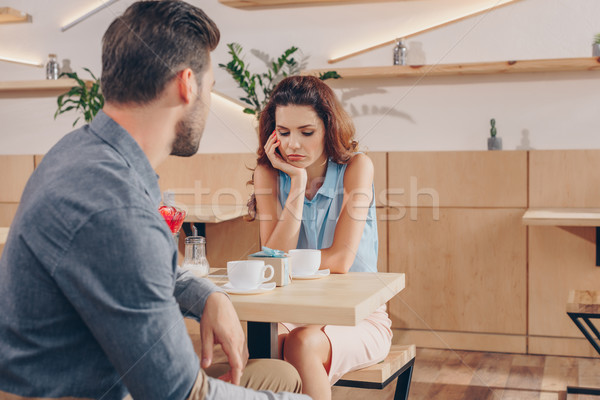couple on romantic date Stock photo © LightFieldStudios