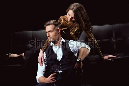 Young couple quarreling Stock photo © LightFieldStudios