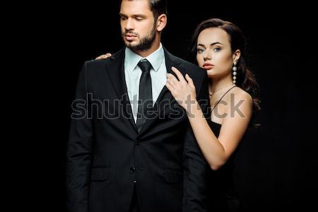 Beautiful sensual couple Stock photo © LightFieldStudios