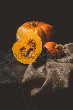 seasonal vegetables on sackcloth  Stock photo © LightFieldStudios
