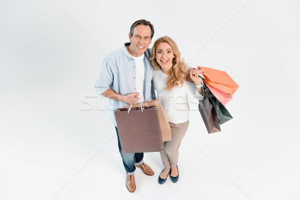 Szczęśliwy w średnim wieku para uśmiechnięty Zdjęcia stock © LightFieldStudios