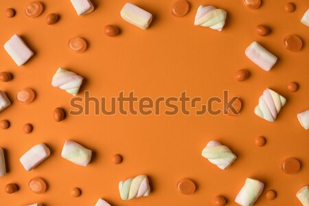 Halloween bonbons haut vue savoureux sweet Photo stock © LightFieldStudios