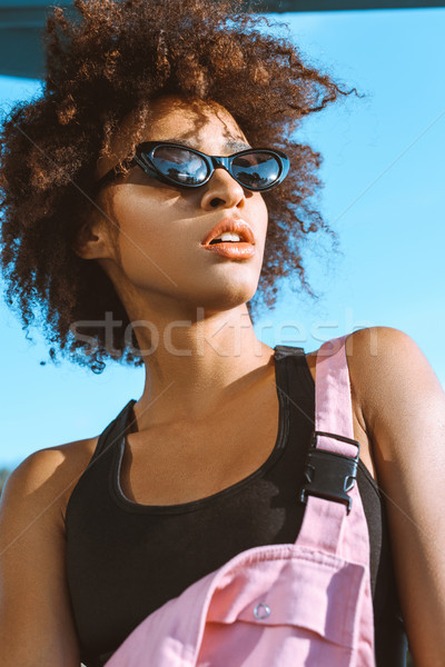 African-american woman in sunglasses Stock photo © LightFieldStudios