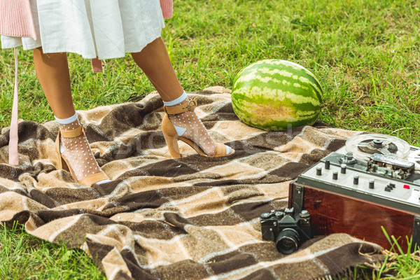 girl with watermelon Stock photo © LightFieldStudios