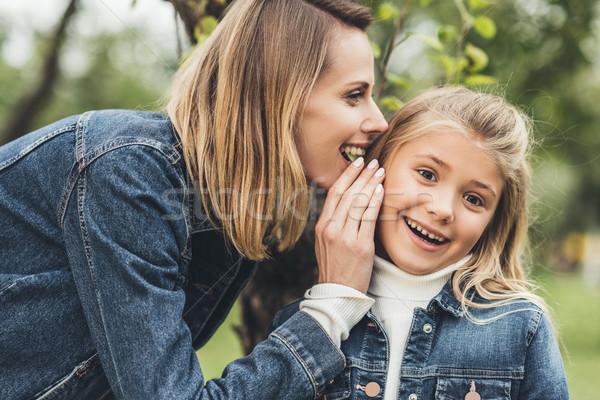 母親 娘 幸せ 子 ストックフォト © LightFieldStudios
