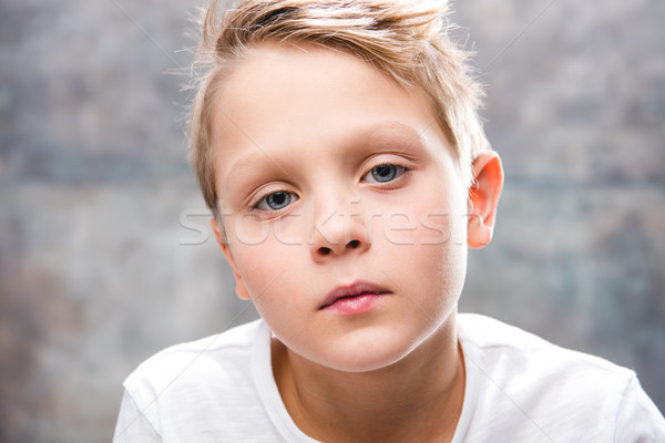 Cute boy portrait Stock photo © LightFieldStudios