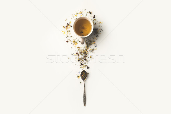 herbal tea in cup Stock photo © LightFieldStudios
