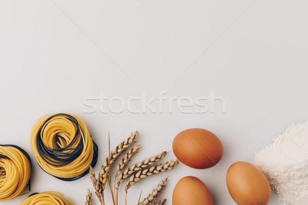 パスタ 材料 先頭 表示 食品 鶏 ストックフォト © LightFieldStudios