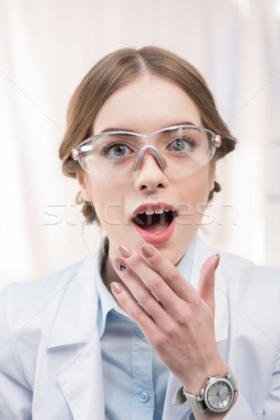 Professional female scientist   Stock photo © LightFieldStudios