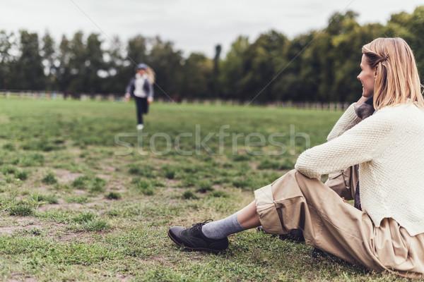 woman in autumn outfit Stock photo © LightFieldStudios