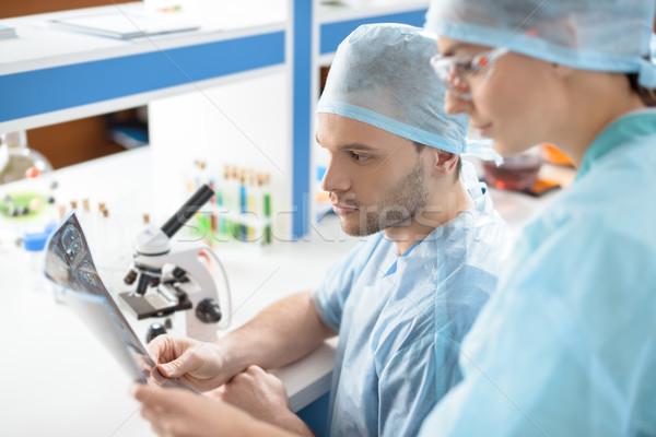 вид сбоку хирурги медицинской Xray изображение Сток-фото © LightFieldStudios