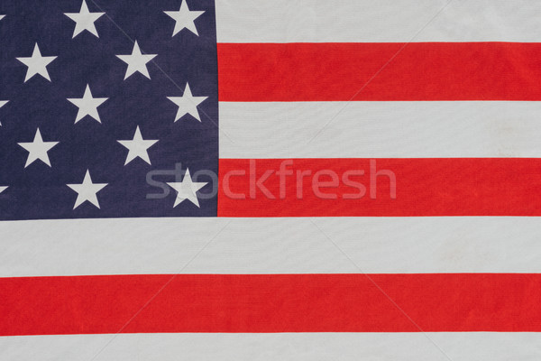 close up view of american flag, presidents day concept Stock photo © LightFieldStudios