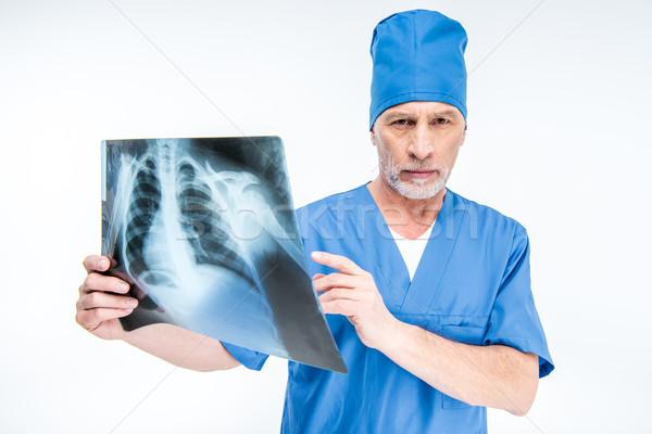 врач Xray изображение портрет зрелый мужской доктор Сток-фото © LightFieldStudios