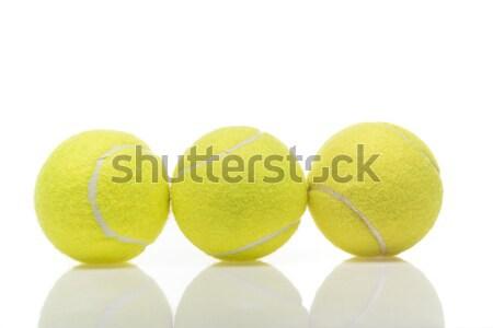 tennis balls Stock photo © LightFieldStudios