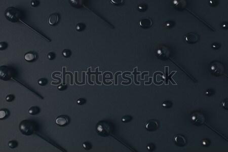 черный Top мнение вкусный Хэллоуин кадр Сток-фото © LightFieldStudios