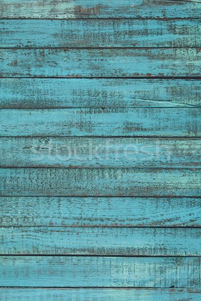 Mintázott kék rusztikus fából készült retro minta Stock fotó © LightFieldStudios