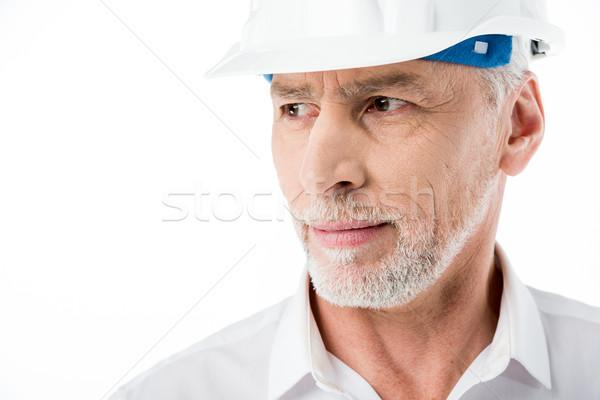 Stockfoto: Volwassen · mannelijke · architect · werk