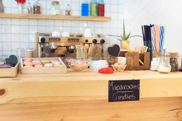 Kafe görmek lezzetli Stok fotoğraf © LightFieldStudios
