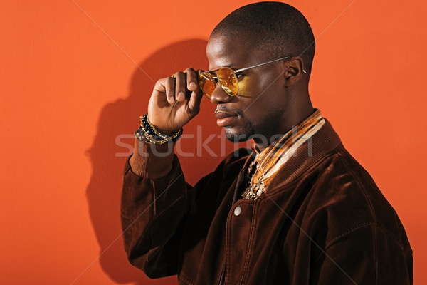 stylish man in sunglasses Stock photo © LightFieldStudios