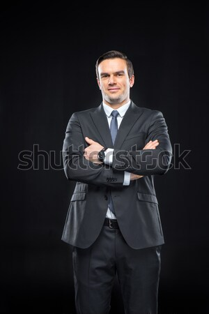 Confident young businessman Stock photo © LightFieldStudios