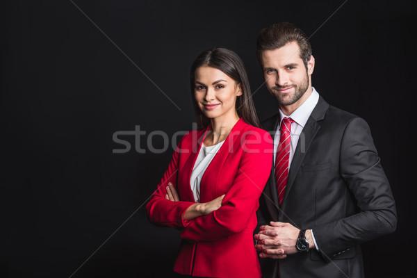 Young confident businesspeople Stock photo © LightFieldStudios