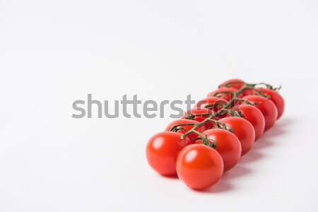 Tomates cereja branco vegetal dieta Foto stock © LightFieldStudios