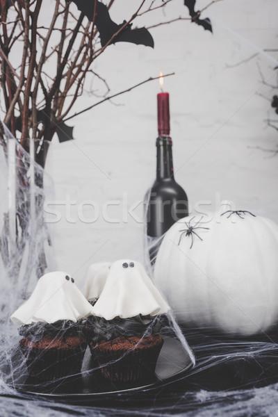 Zdjęcia stock: Halloween · dekoracje · widoku
