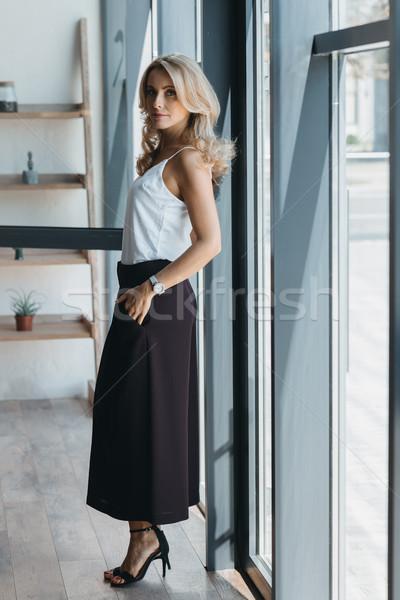 Piękna widoku elegancki patrząc Zdjęcia stock © LightFieldStudios