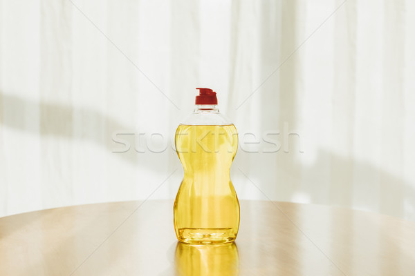 Fles schoonmaken vloeistof plastic Stockfoto © LightFieldStudios