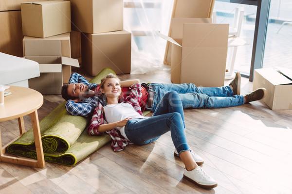 Paar gelukkig Stockfoto © LightFieldStudios