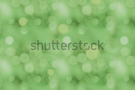 Verde bokeh texture full frame abstract sfondo Foto d'archivio © LightFieldStudios