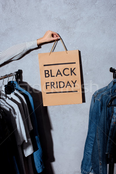 Stock photo: black friday